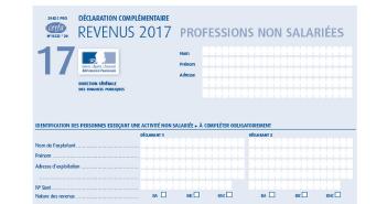 Déclaration de revenus 2017