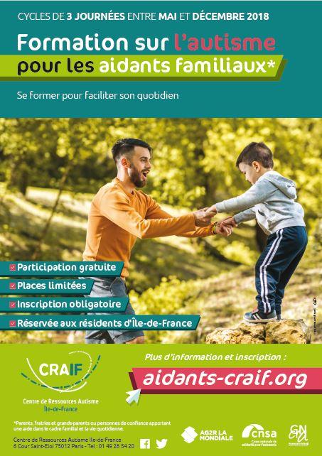 Formation autisme pour les aidants