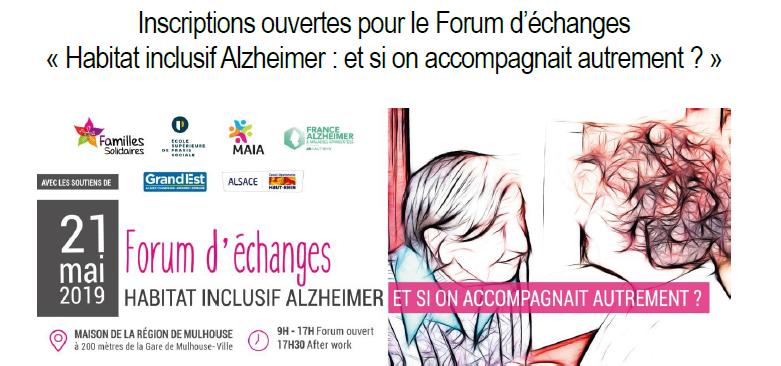 Forum d'échange habitat inclusif Alzheimer